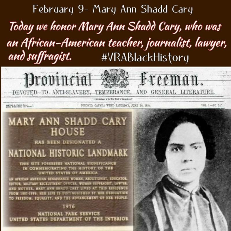 a biography of mary ann shadd a journalist and social activist Shadd, mary ann camberton (cary), educator and a plea for emigration: or, notes of canada west, in its moral, social, and political aspect for the information of mary ann camberton, in dictionary of canadian biography, vol 12, university of toronto/universit.