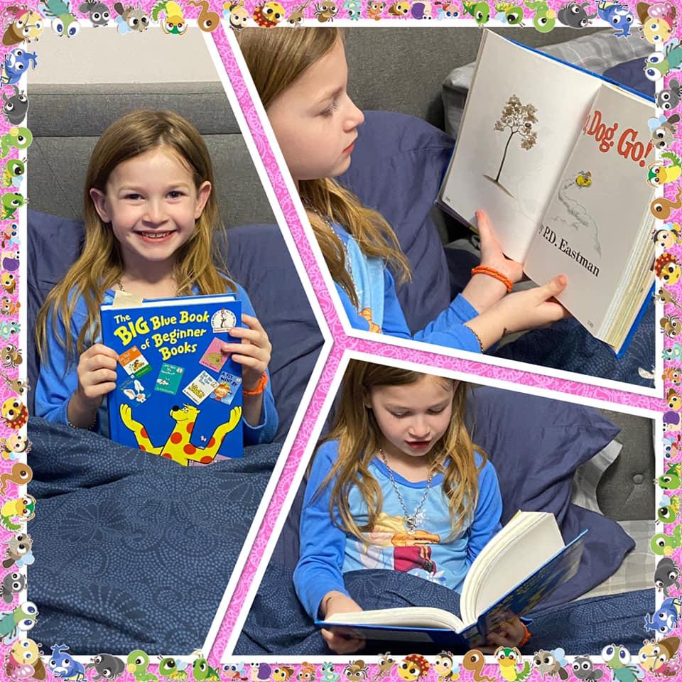 Fulton Student Reading