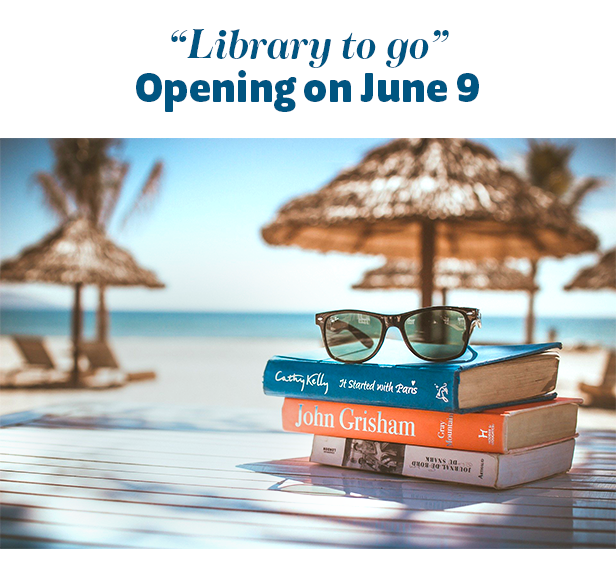 """""""Library to go"""" Opening on June 9 at Rancho Mirage Library & Observation"""