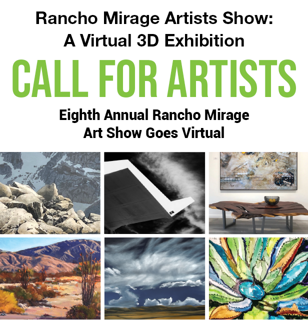 Virtual 3D Edition: Call for Artists for 8th Annual Rancho Mirage Art Show
