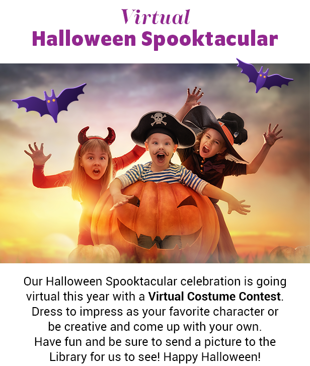 Virtual Halloween Spooktacular at The Ranch Mirage Library & Observatory in Rancho Mirage