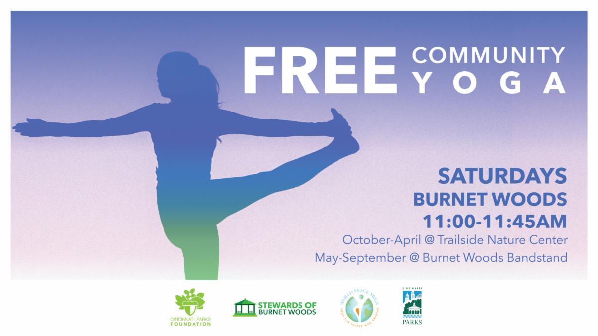 Yoga in Burnet Woods