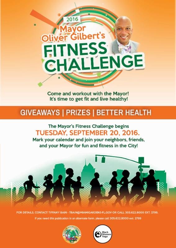 Reminder: Get Fit with the Mayor's Fitness Challenge Tomorrow!