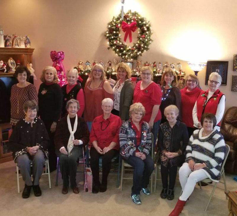 2018 Ladies Ornament Exchange