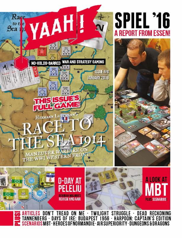 """Flying Pig: Yaah #8, with """"The Race to the Sea – 1914"""" to be released in January 2017"""