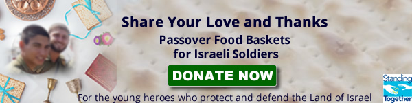 Passover Food Baskets for Soldiers