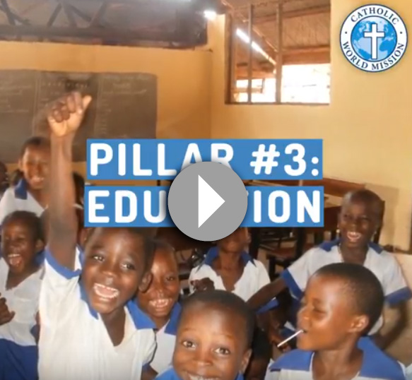 Click to watch a video about our Education pillar_