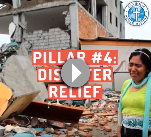 Click to see a video about our Disaster Relief pillar.