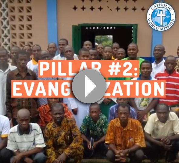 Click to watch a video about our Evangelization pillar_