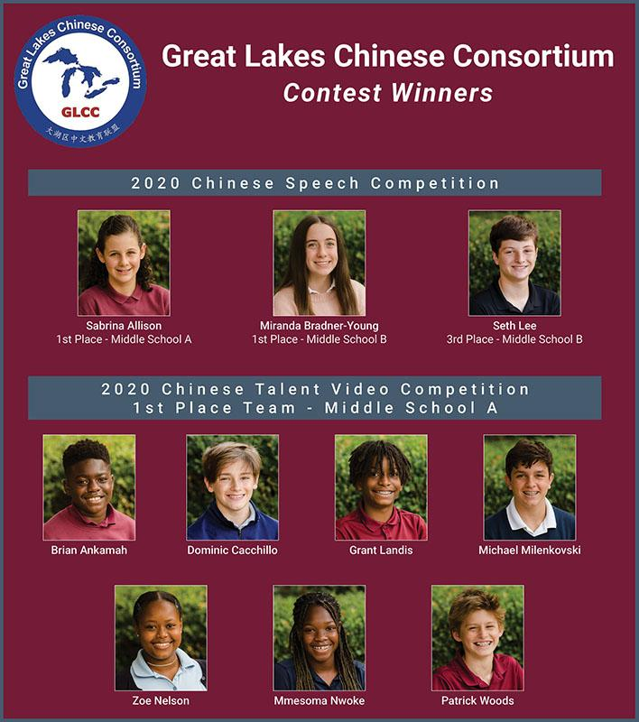 Chinese Contest Winners