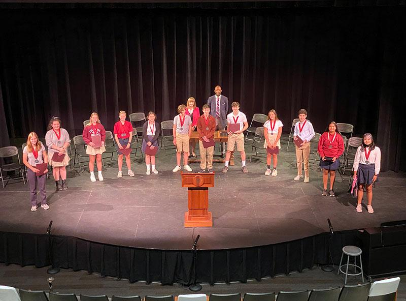 Middle School Awards photo