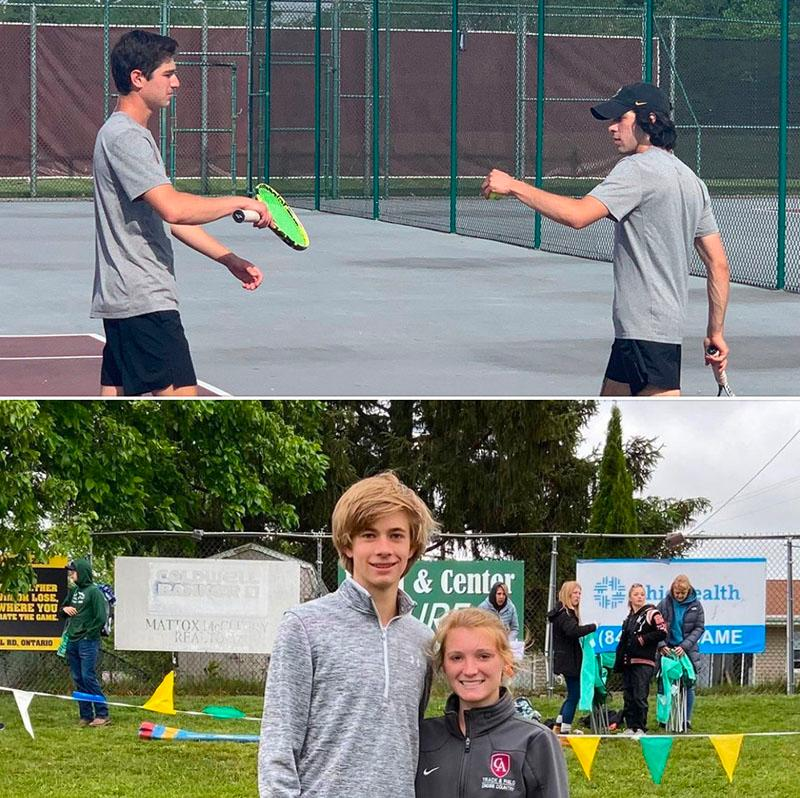 Tennis & Track images