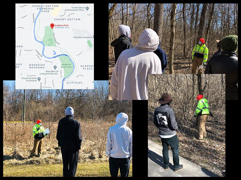 Park Cleanup photo collage