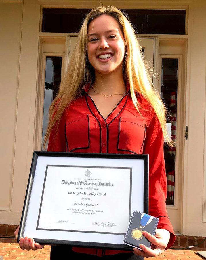 Annalise Grammel award photo