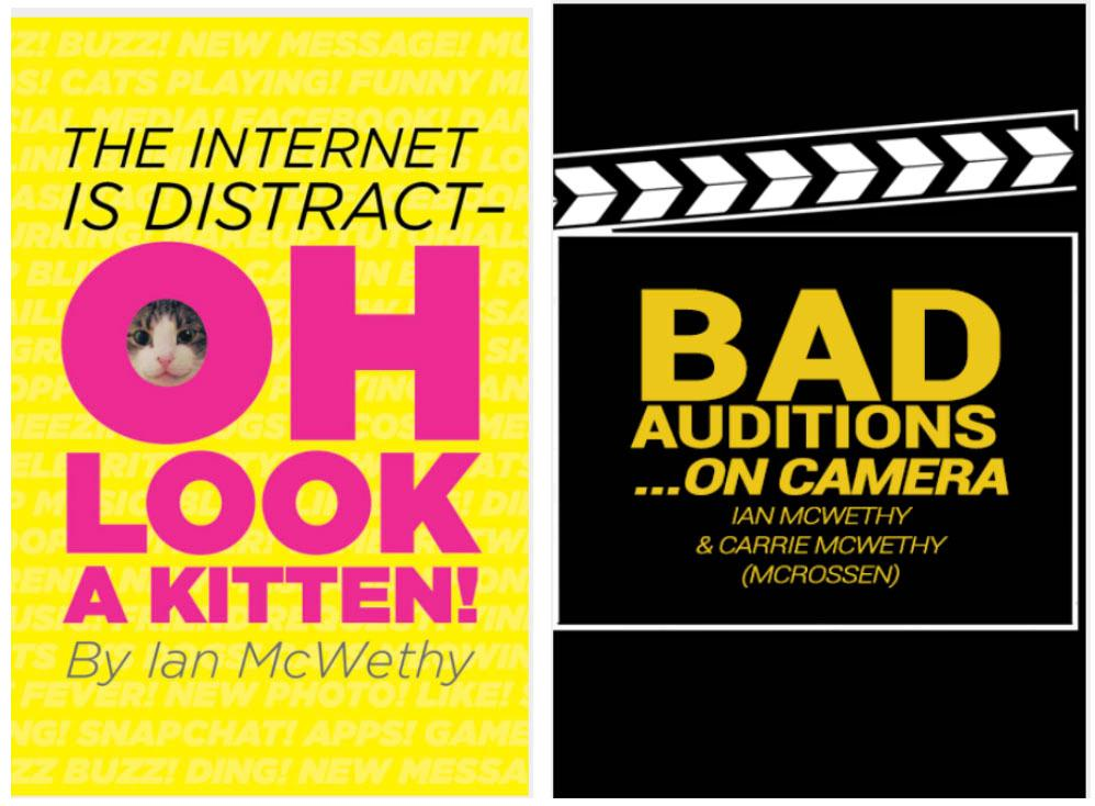 Kittens & Auditions Graphic
