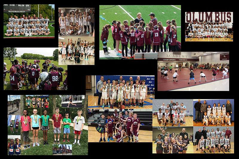 Youth Sports collage