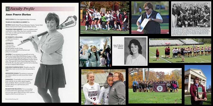 Anne Horton photo collage