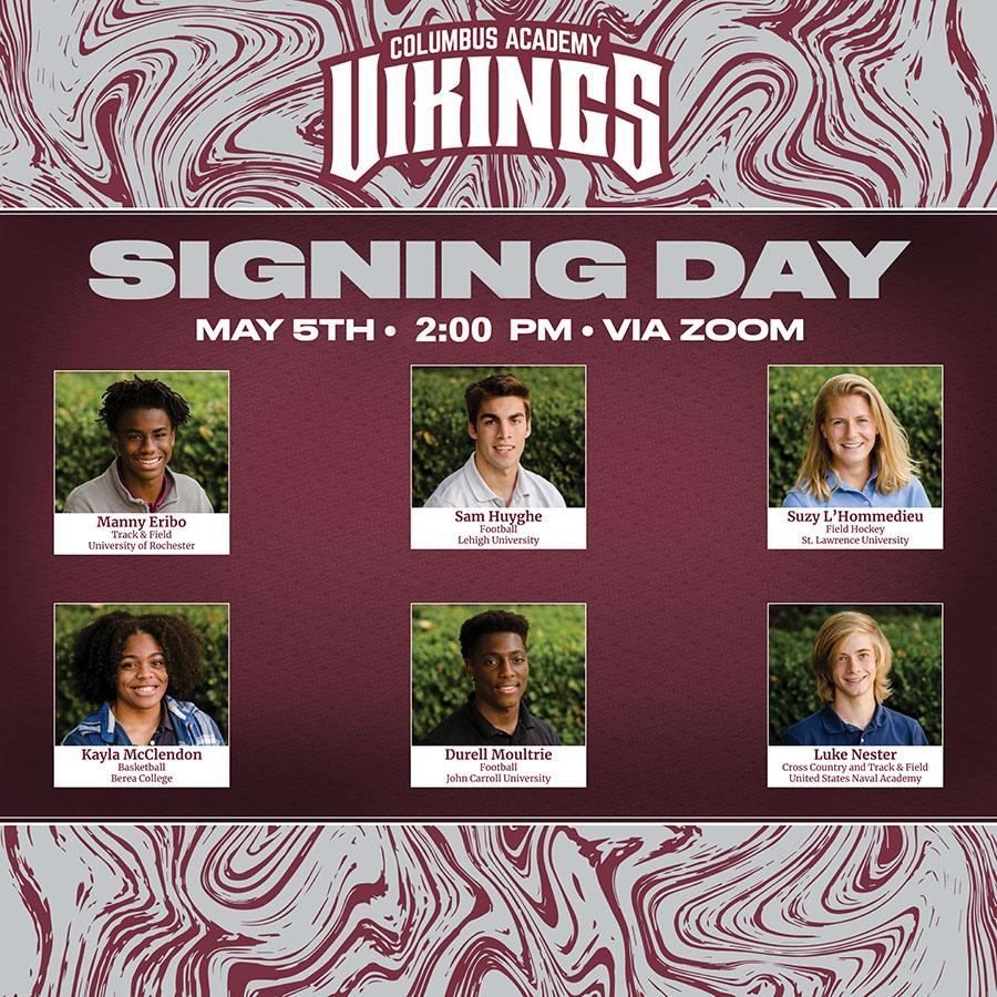 Athletic Signing graphic