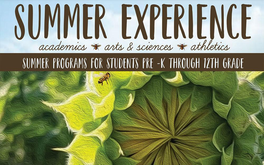 Summer Experience 2021 graphic