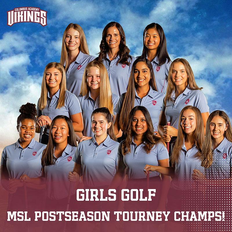 Girls Golf Team Photo