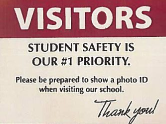 Visitors please be prepared to show photo ID