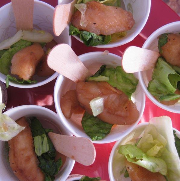 lunchbox pear salad