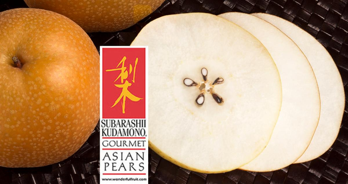 enjoy slices of pears