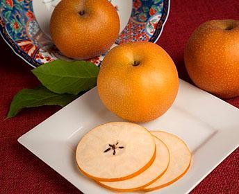 festive pear slices