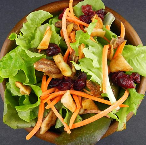 pantry dried pear salad