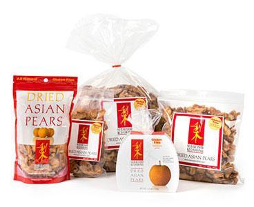 dried pear snacks