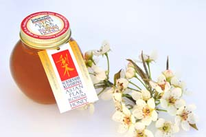 Asian Pear Blossom Honey