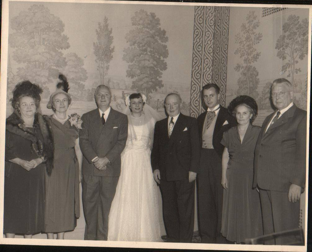 The Irish side of my Family at my parent's wedding in 1949.