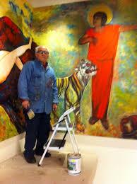 Antonio Masini, Studio in Italy,