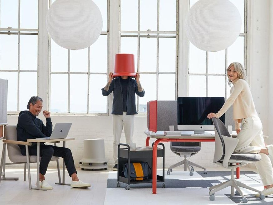 Teknion Routes furniture collection