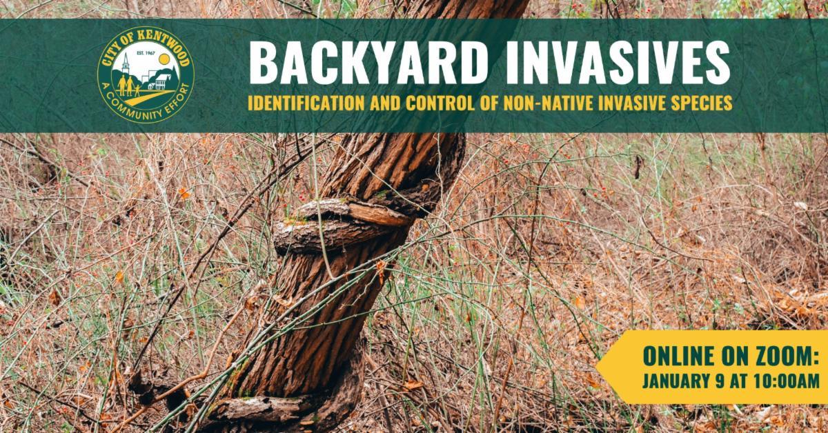 Backyard Invasives training graphic