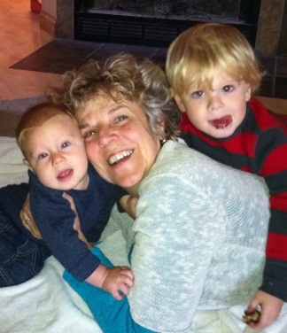 Cynthia and Grandchildren