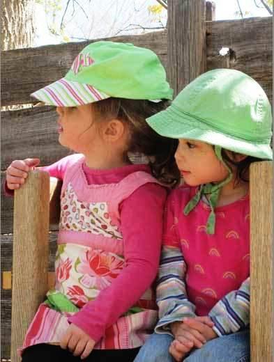 Rainbow Bridge summer girls hats