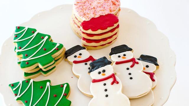 Kara's holiday cookies
