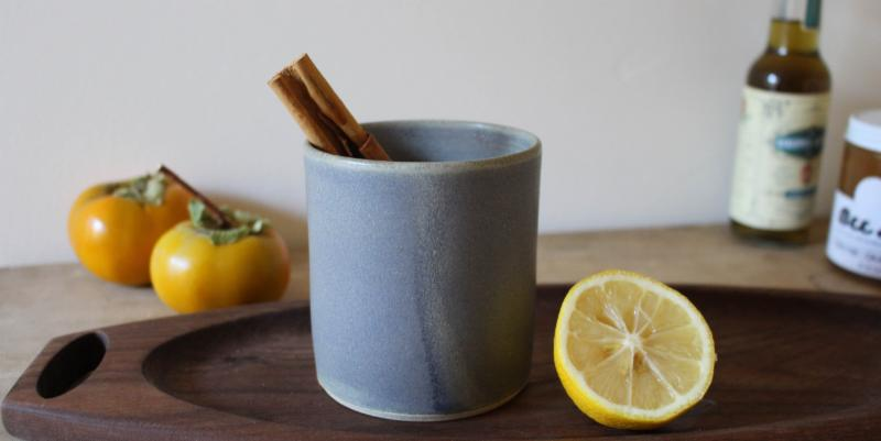 Wood Fiber Clay Hot Toddy