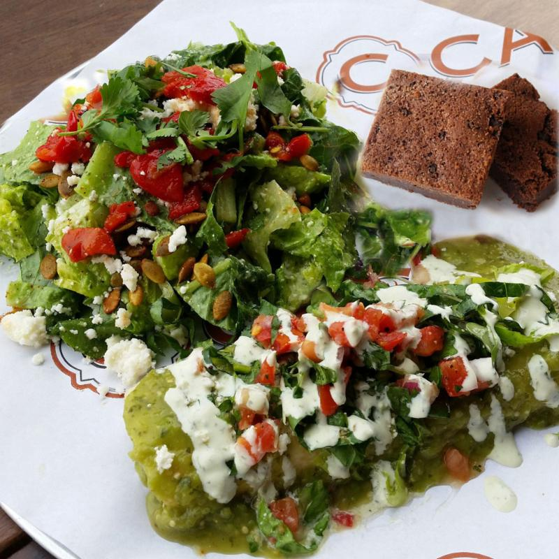 October enchilada special
