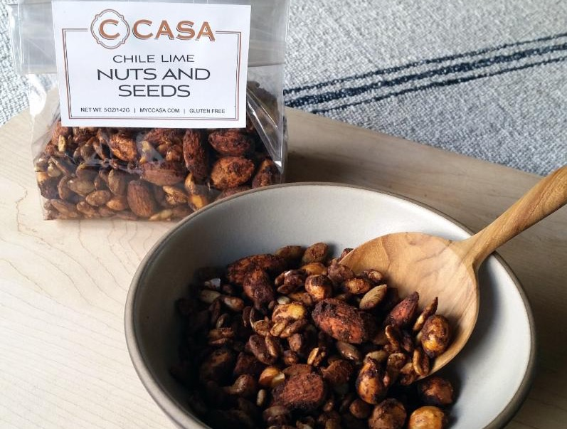 C CASA nuts and seeds