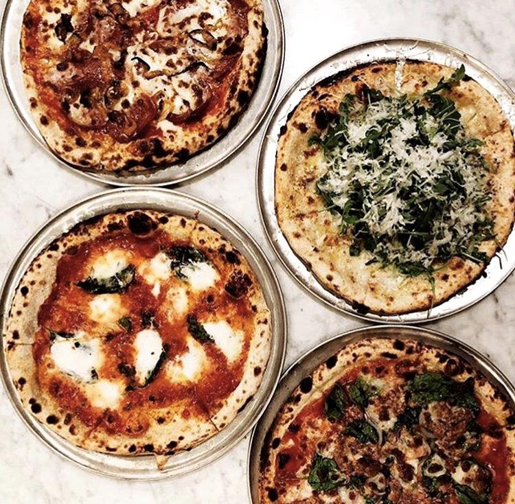 Live Fire pizzas