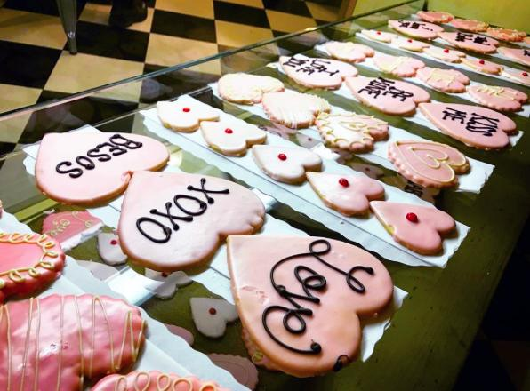 Model Bakery Valentine's
