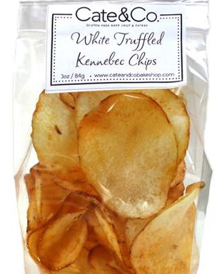 White truffle chips