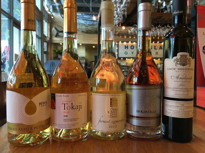 OCWM Tokaji wines