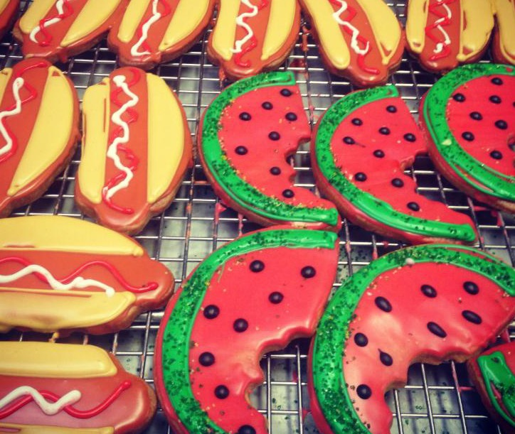 Model Bakery BBQ cookies