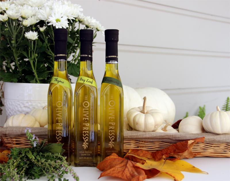 Olive Press fall flavors