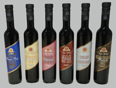Anette's tall sauces