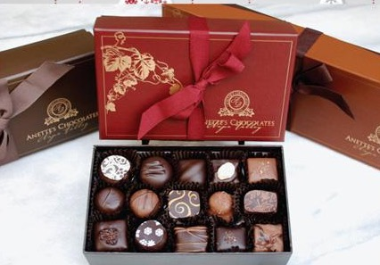 Anette's box chocolates