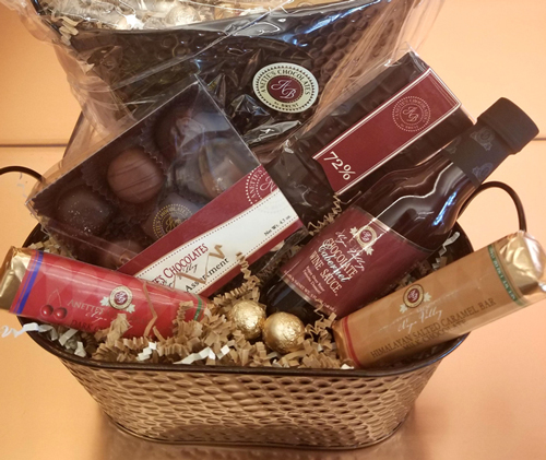 Anette's Chocolates basket